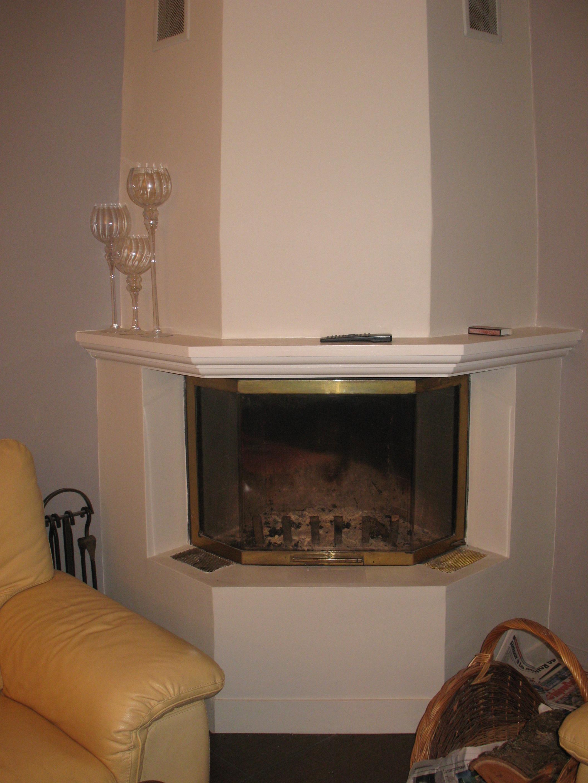 Chemin e apr s d coration cr ation d 39 espaces int rieurs - Transformer une cheminee en insert ...
