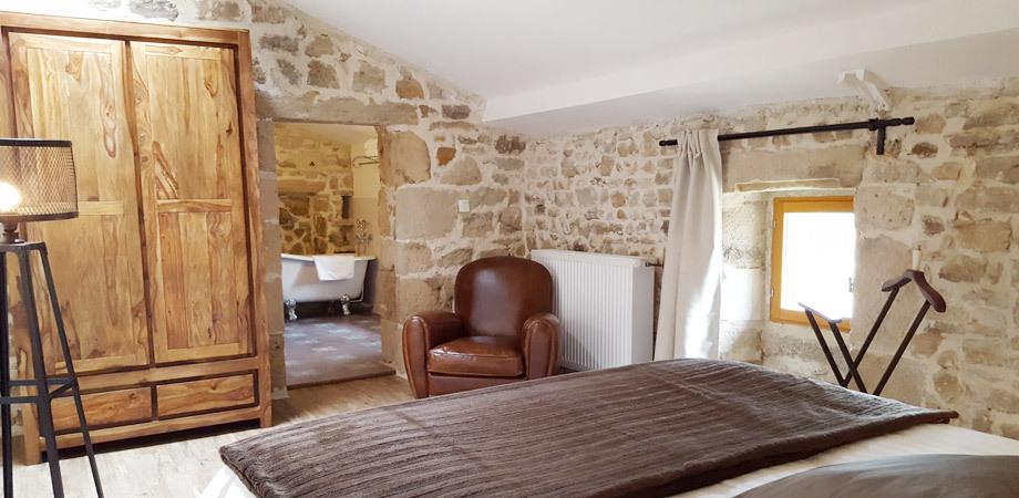 Décoration de 3 chambres d\'hôtes au « Mas de Combeau » en ARDECHE ...
